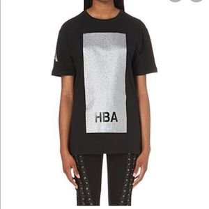 Hood By Air limited edition glitter t shirt